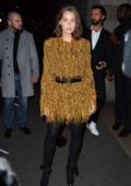 Marie-Ange Casta at L'oreal X Balmain party during Paris Fashion Week, France