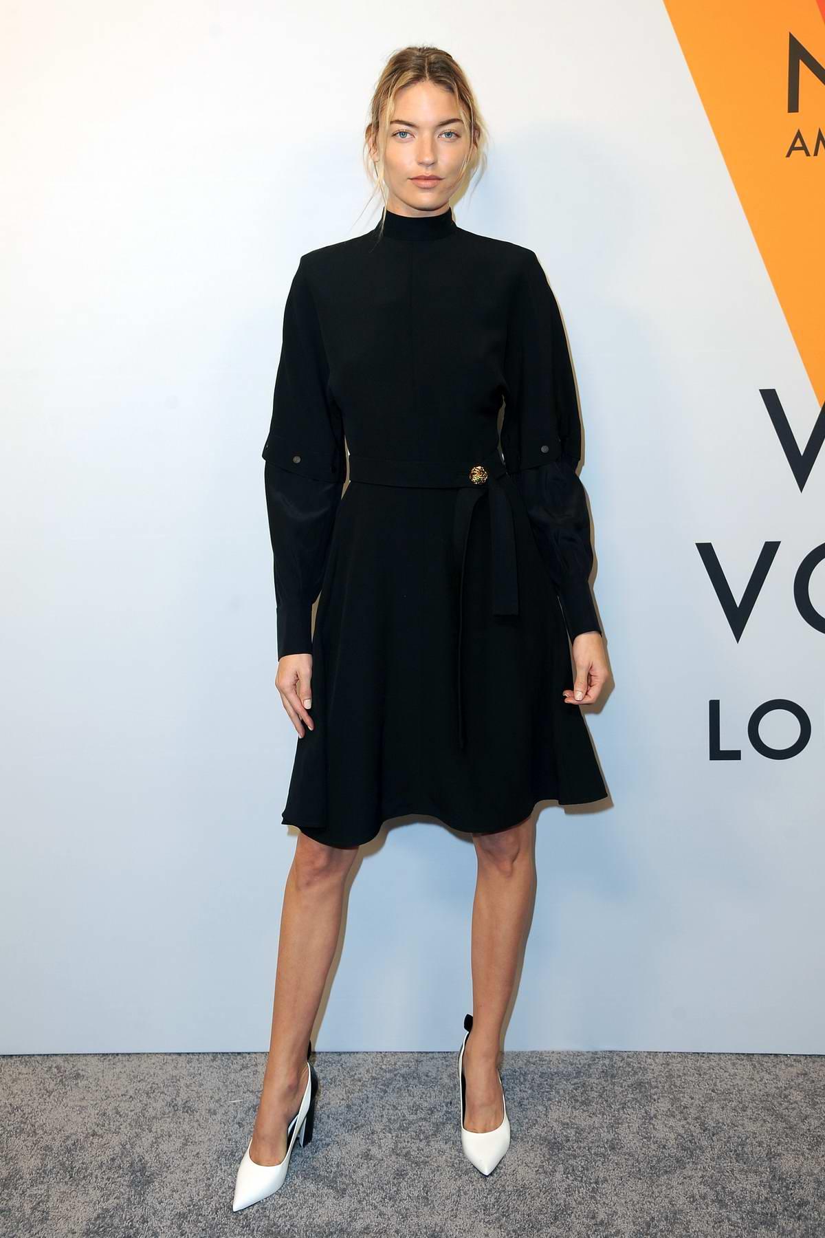 dbb493f9de91 Martha Hunt at Louis Vuitton  Volez