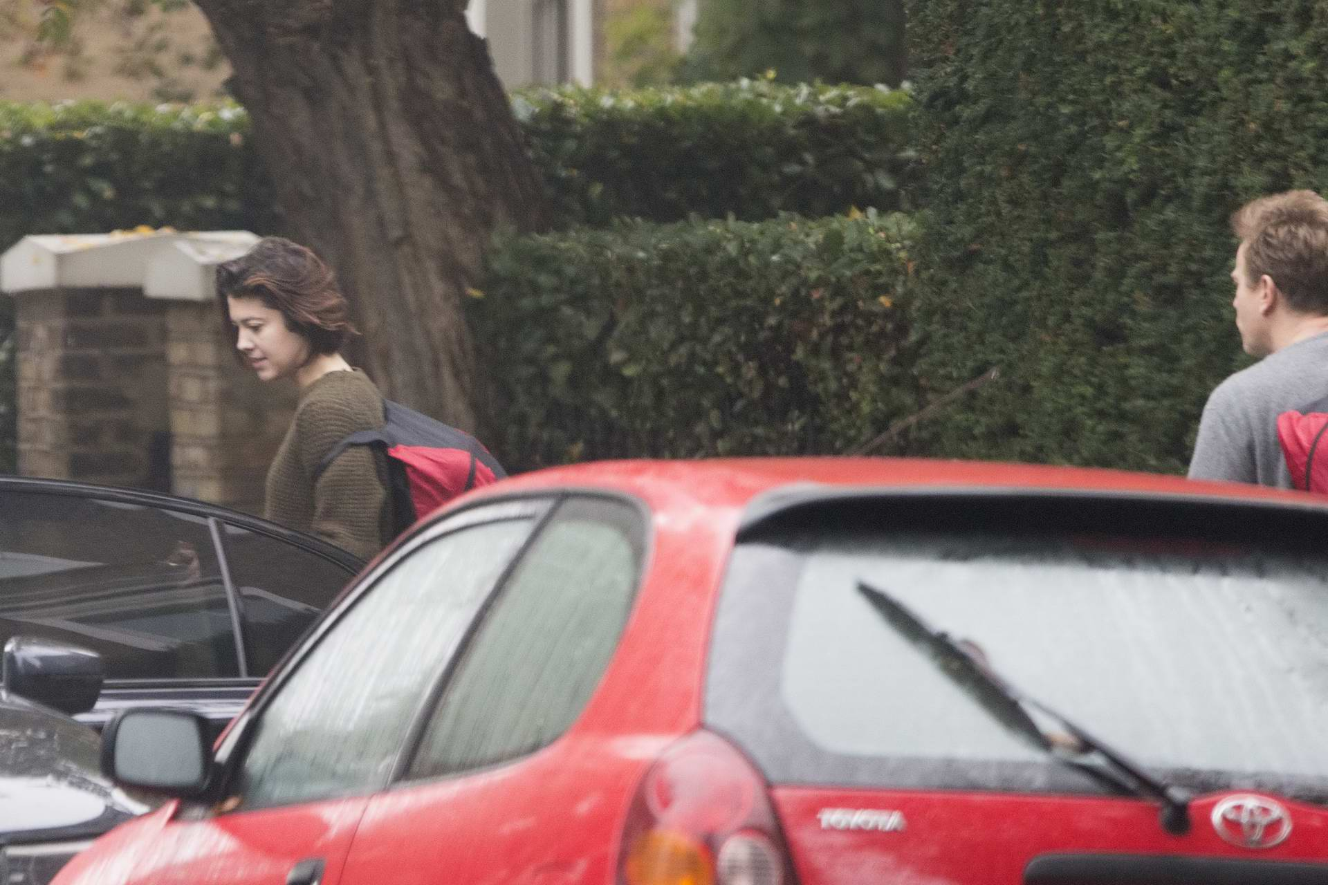 Mary Elizabeth Winstead spotted with Ewan McGregor outside his house in London
