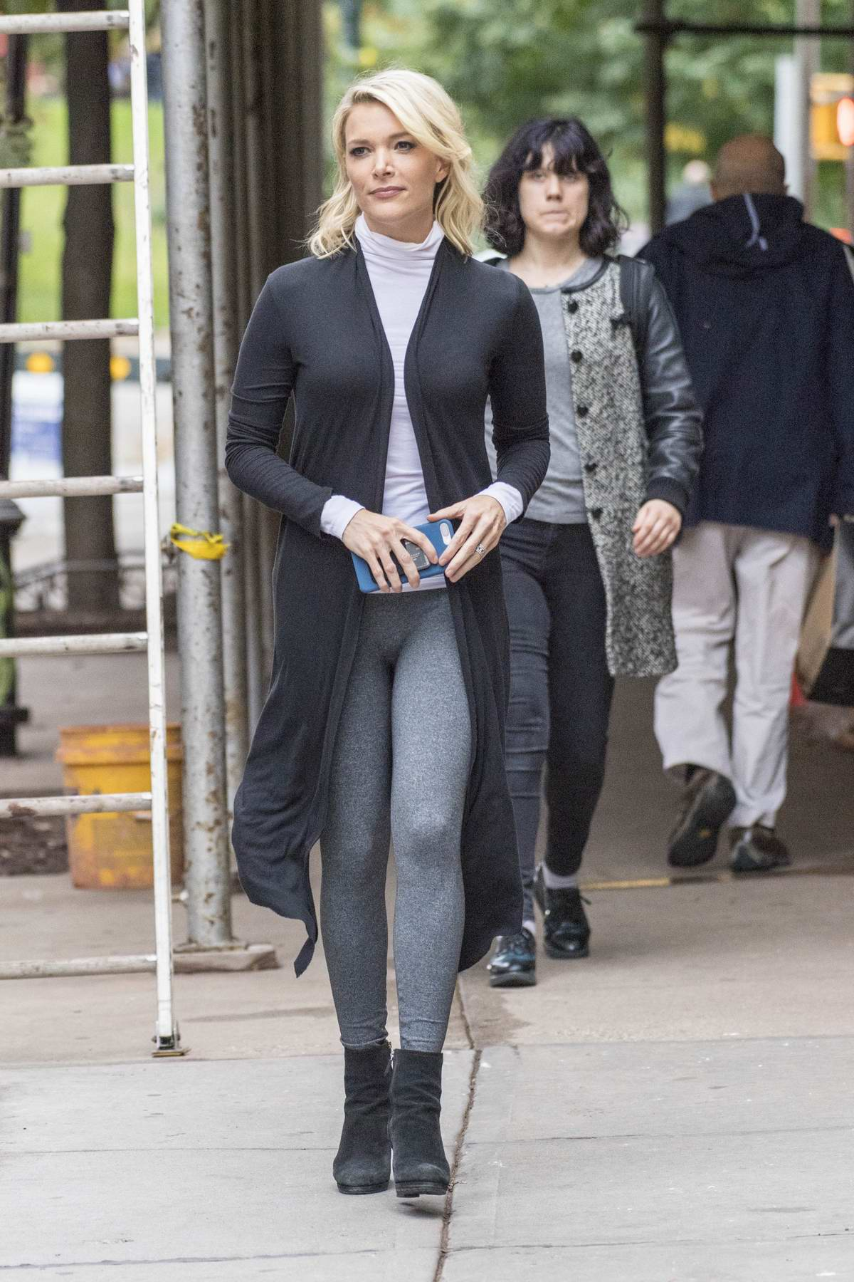 Megyn Kelly was seen leaving NBC studios after a TV appearance in New York City