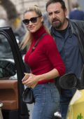 Michelle Hunziker spotted out in Milan, Italy