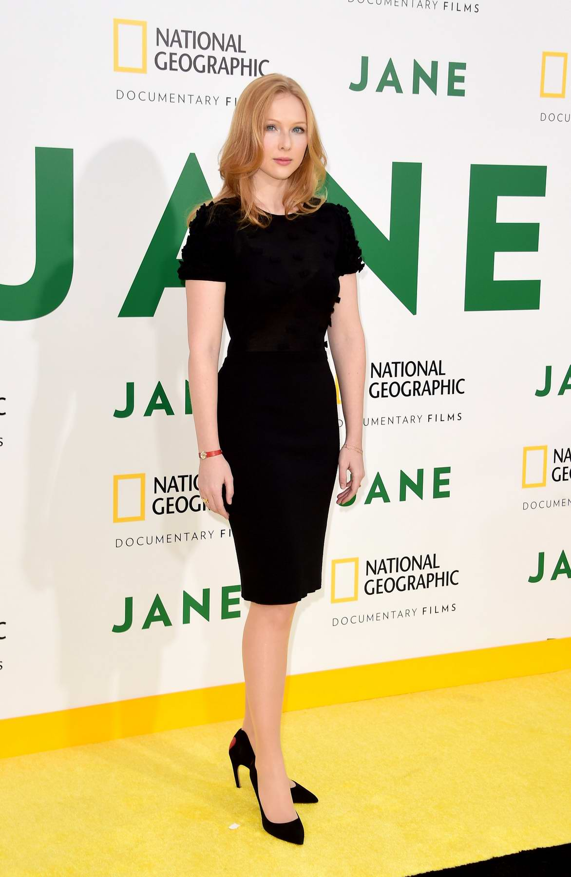 Molly Quinn at the premiere of National Geographic Documentary Films 'Jane' in Los Angeles