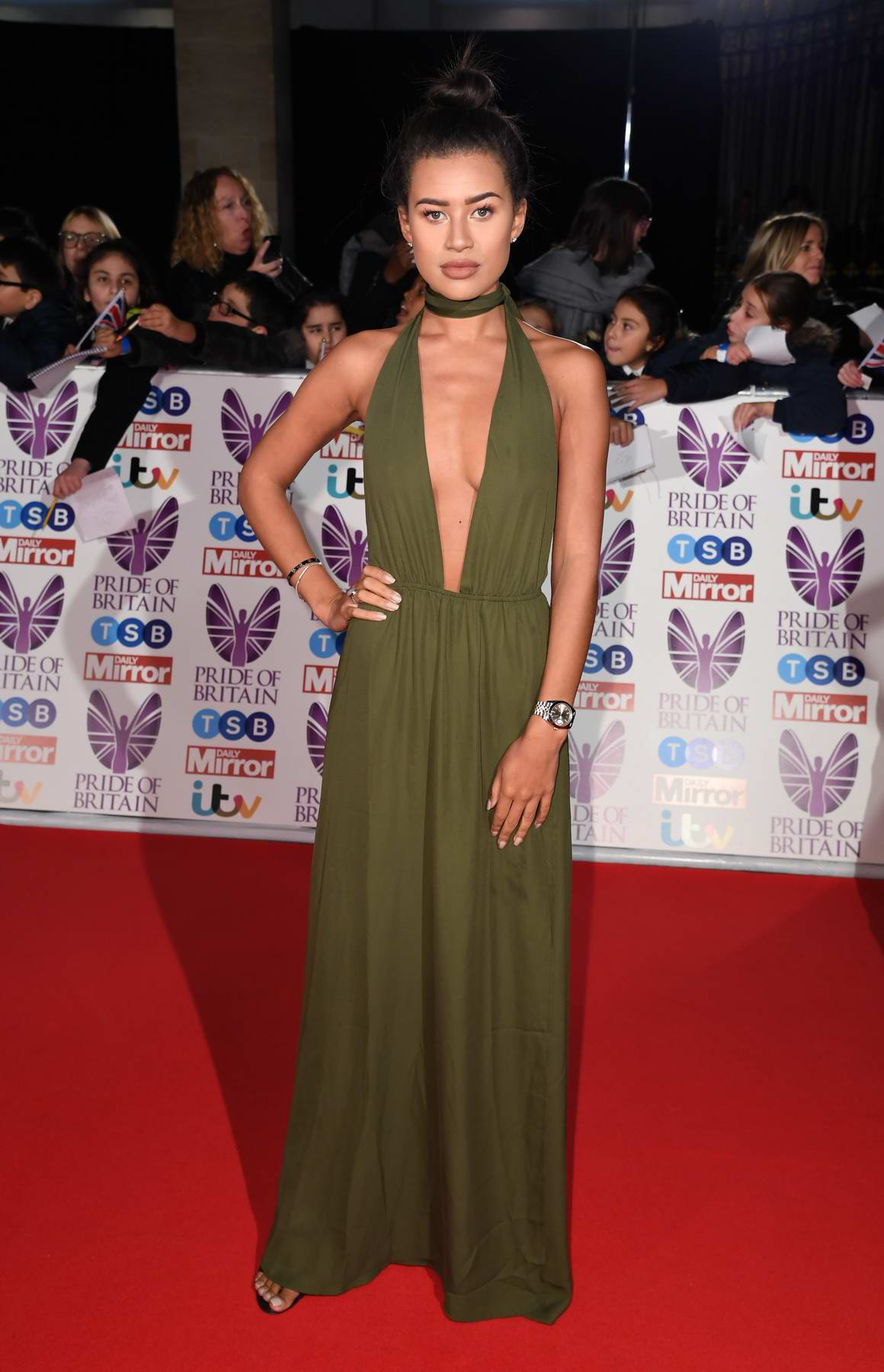 Montana Brown at the Pride of Britain Awards held at the Grosvenor House in London