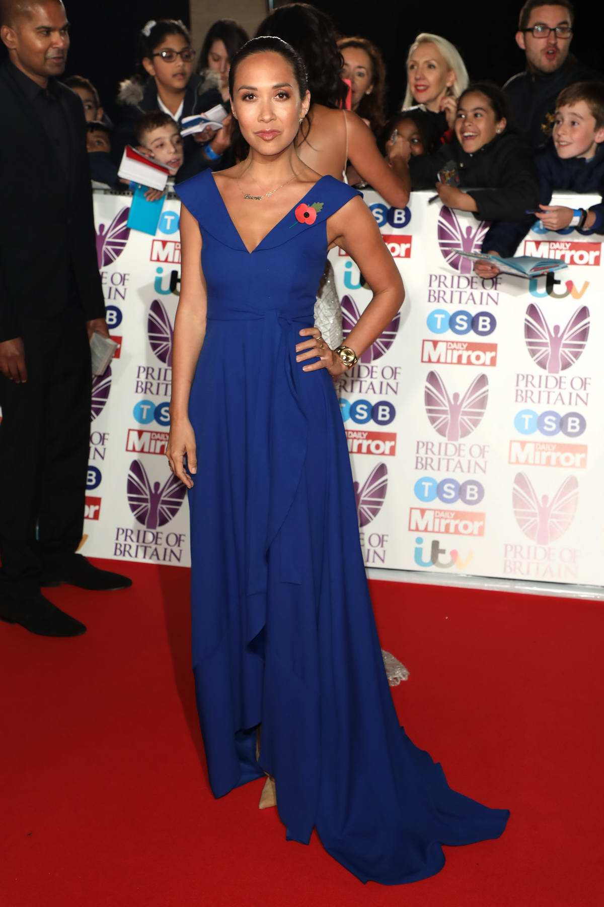 Myleene Klass at the Pride of Britain Awards held at the Grosvenor House in London