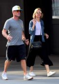 Naomi Watts and brother Ben Watts enjoying a walk in Tribeca, New York City