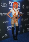 Nicky Whelan at the 2017 Maxim Halloween party in Los Angeles