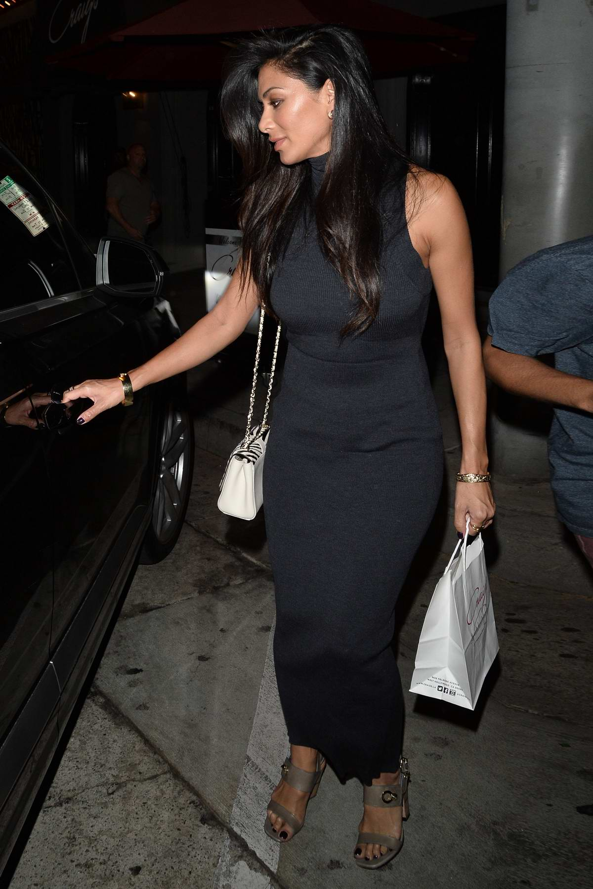 Nicole Scherzinger spotted while leaving Craigs in Los Angeles