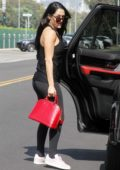 Nikki Bella arriving for DWTS rehersals in Los Angeles