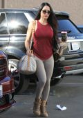 Nikki Bella seen heading into DTWS dance practice in Los Angeles