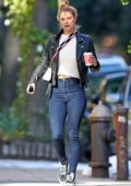 Nina Agdal and boyfriend Jack Brinkley-Cook out for some shopping in the West Village, New York City