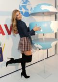 Nina Agdal at 'Pay It Plan It' launch event in New York