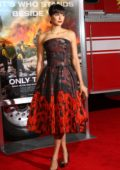 Nina Dobrev at the premiere of 'Only The Brave' in Los Angeles