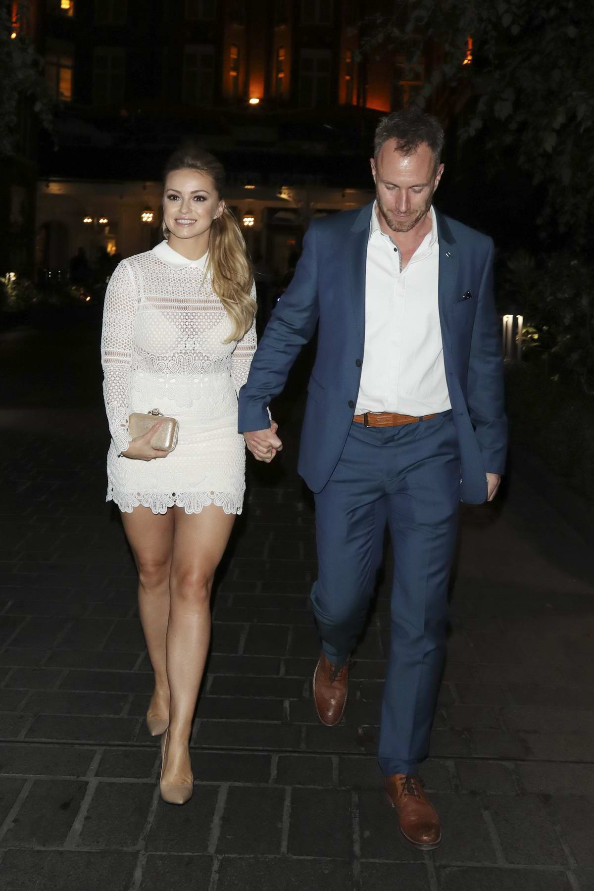 Ola Jordan arrives at the Best Heroes Awards in London