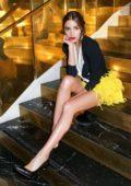 Olivia Culpo at Forward by Elyse Walker dinner during Paris Fashion Week, France