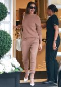 Olivia Culpo spotted leaving Epione in Beverly Hills, Los Angeles