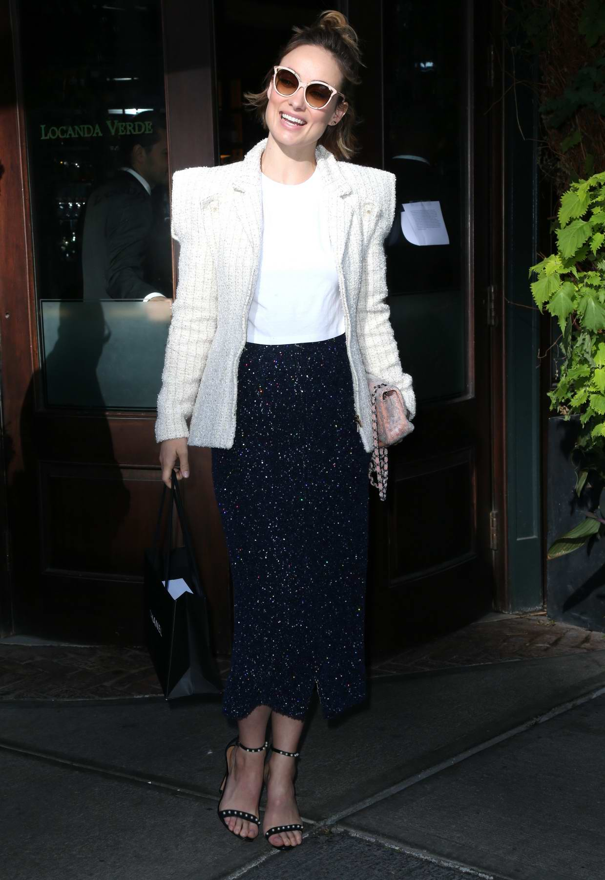 Olivia Wilde at Through Her Lens: The Tribeca Chanel Women's Filmmaker Program Luncheon in New York City