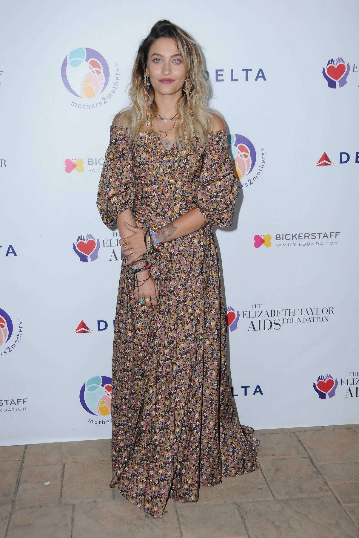 Paris Jackson at Elizabeth Taylor AIDS Foundation and mothers2mothers benefit dinner in Los Angeles