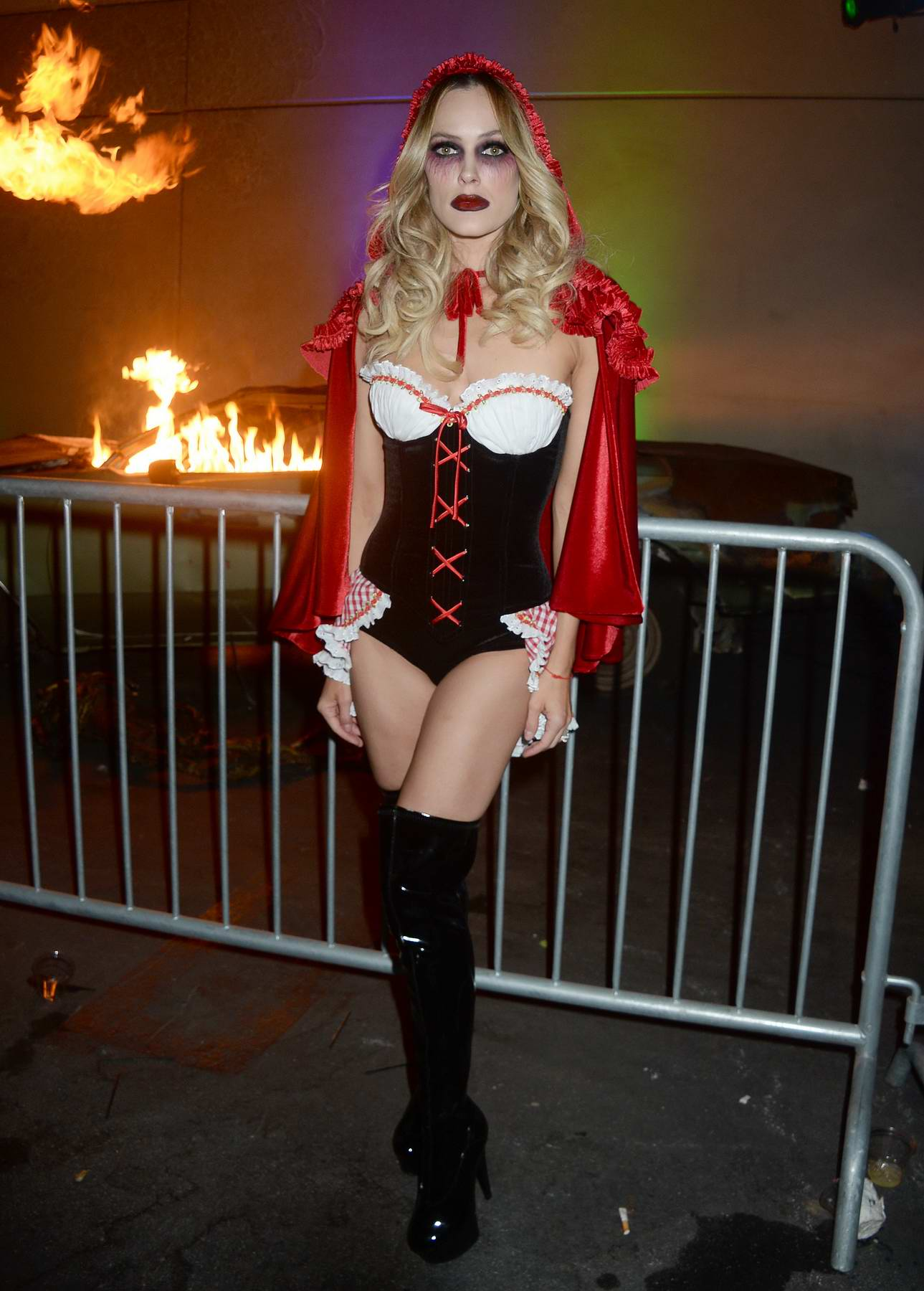 Peta Murgatroyd at the 2017 Maxim Halloween party in Los Angeles
