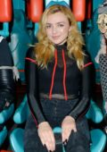 Peyton Roi List visits Knott's Scary Farm at Knott's Berry Farm in Buena Park, California