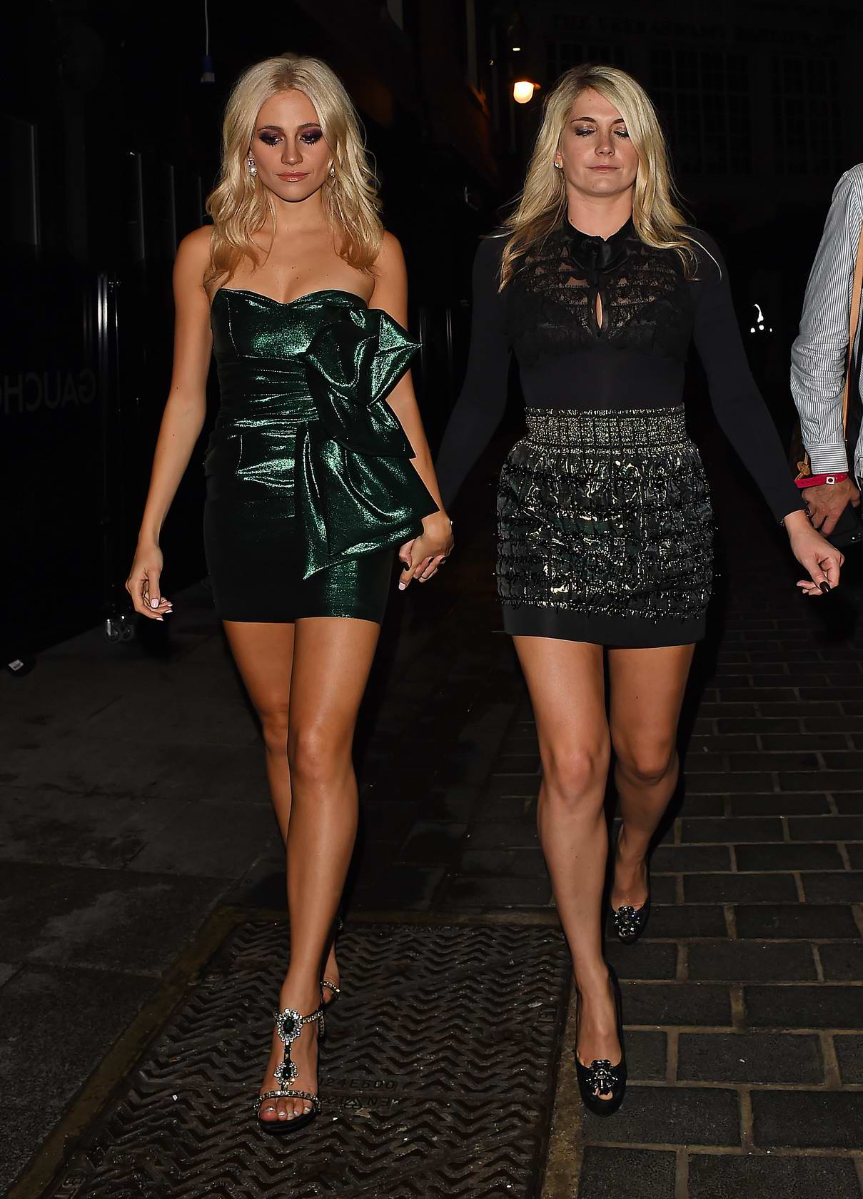Pixie Lott leaves her album launch party at Cuckoo Club in London
