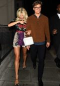 Pixie Lott leaving the Tag Heuer launch party in London