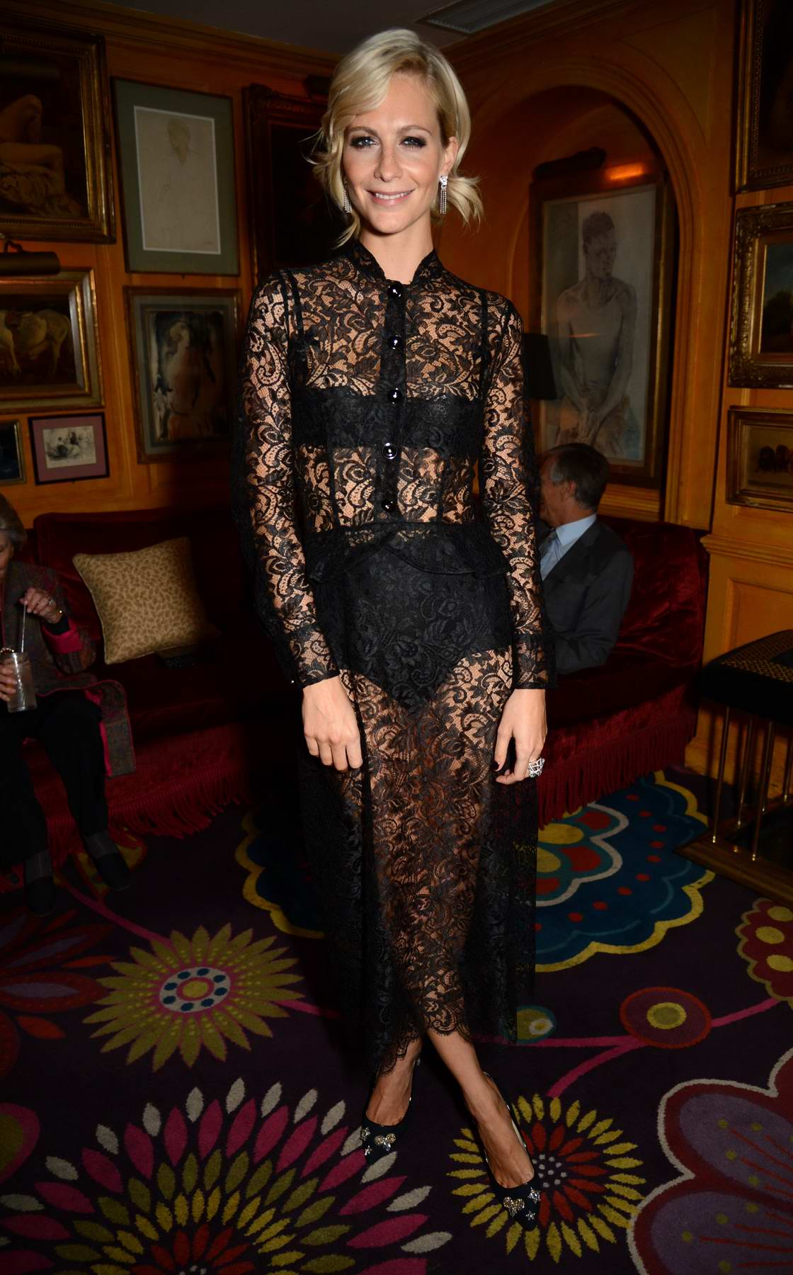 Poppy Delevingne at Conde Nast Traveler's 20th anniversary after-party at Annabel's in London