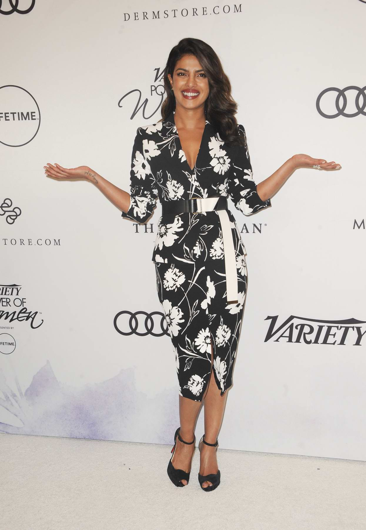 Priyanka Chopra at the Variety's Power of Women presented by Lifetime in Los Angeles