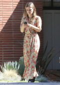 Rachel Bilson was spotted arriving at a friends place in the Toluca Lake area, Los Angeles