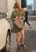 Rachel McAdams does a little shopping with her sister Kayleen McAdams in Beverly Hills, Los Angeles