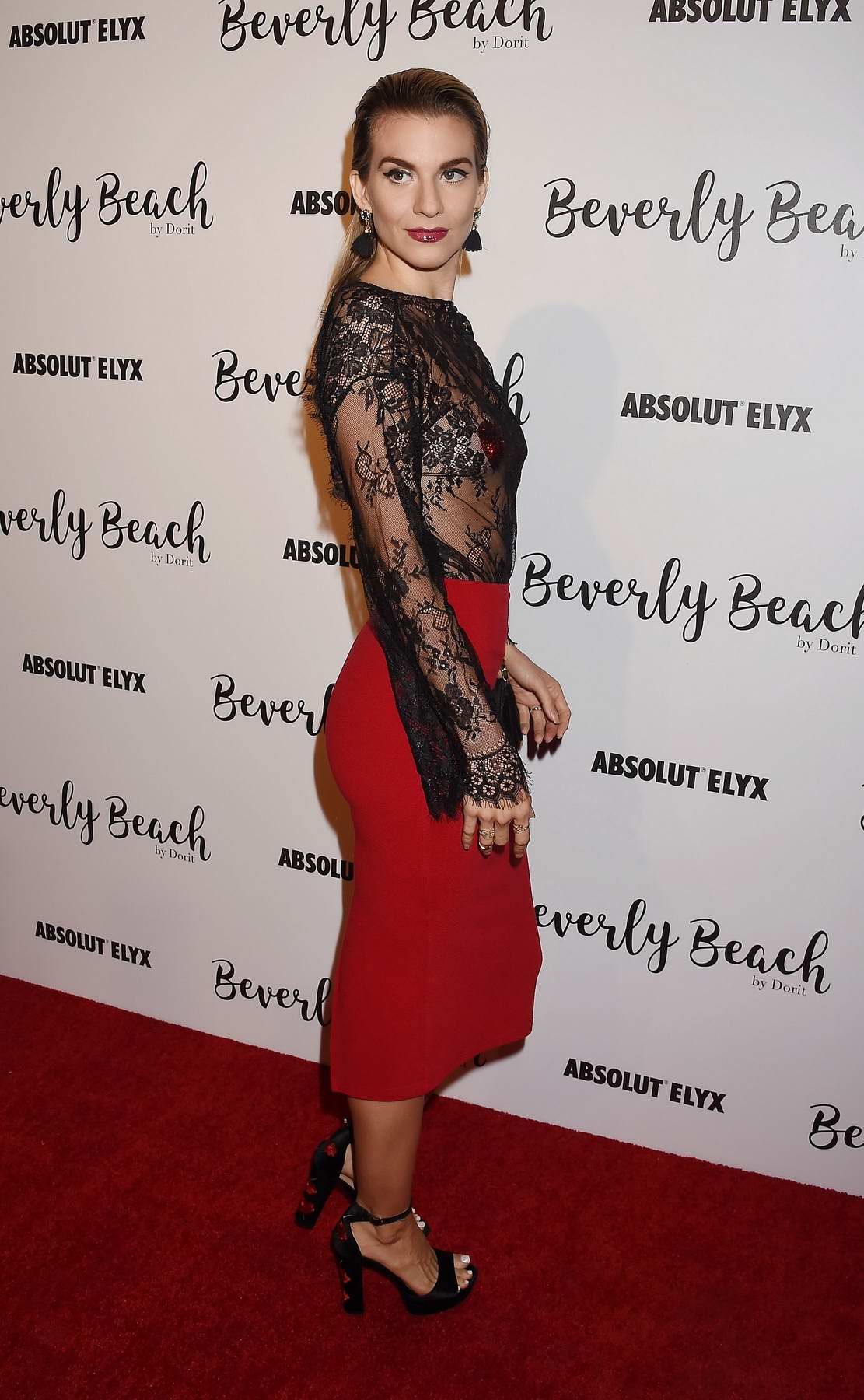 Rachel McCord at Dorit Kemsley hosts preview event for Beverly Beach by Dorit at The Trunk Club in Culver City, Los Angeles