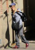 Renee Zellweger arrives for her appearance on Jimmy Kimmel Live in Los Angeles