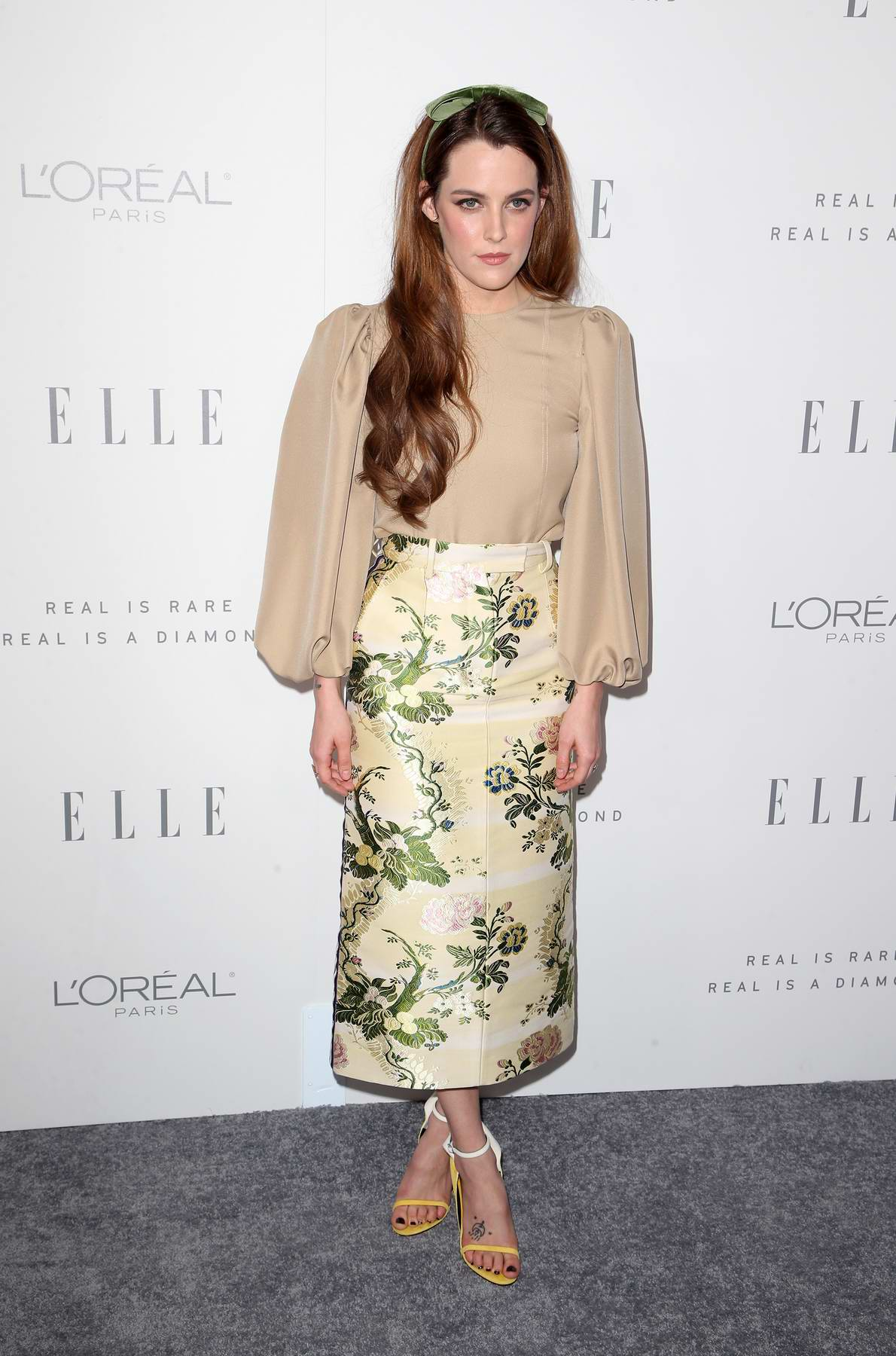 Riley Keough at the Elle's 24th Annual Women in Hollywood Celebration in Los Angeles
