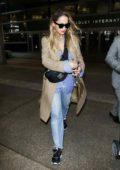 Rita Ora arrives at LAX International Airport, Los Angeles