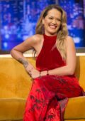 Rita Ora makes an appearance on The Jonathan Ross Show in London