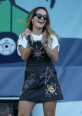 Rita Ora performs during the Brew and Chew Festival at the Palm Beach Outlets in Palm Beach, Florida