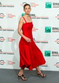 Rosamund Pike at 'Hostiles' photocall during Rome Film Festival in Italy