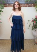 Rose Leslie at the press conference for The Good Fight at the HFPA offices in West Hollywood, Los Angeles