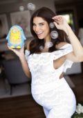 Roselyn Sanchez and Eric Winters hosts Black and White themed Baby shower bash in Sherman Oaks, Los Angeles