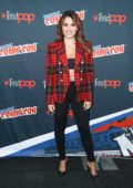 Sarah Shahi at 'Reverie' press room during New York Comic-Con in New York