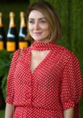 Sasha Alexander at Veuve Cliquot Polo Classic in Los Angeles