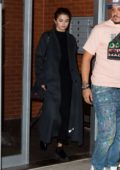 Selena Gomez leaves her apartment as she heads to dinner with friends at The Spotted Pig in New York City