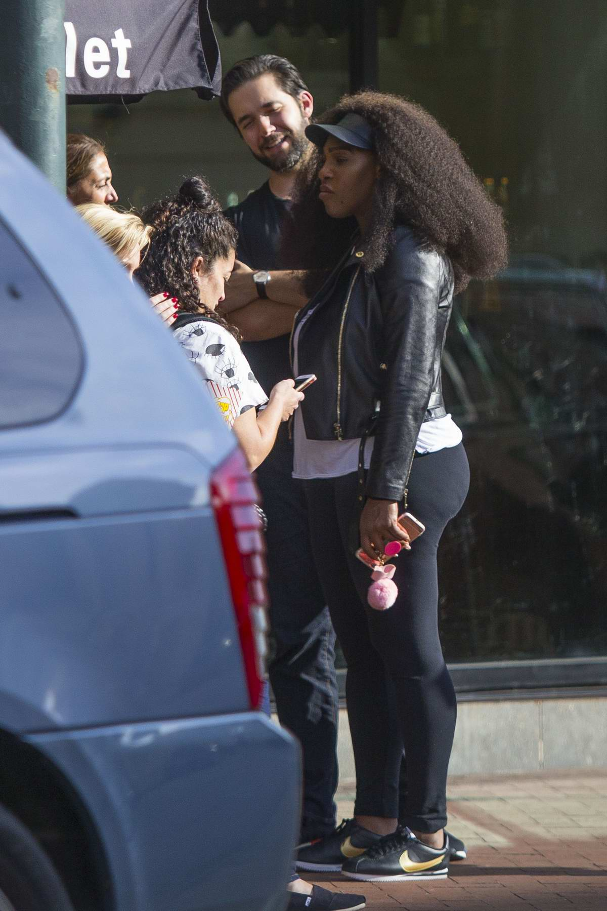 Serena Williams spotted with fiancé Alexis Ohanian while making wedding plans in New Orleans