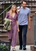 Sienna Miller out and about with a friend in the West Village, New York City