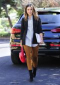 Sophia Bush on her way to a meeting in Studio City, Los Angeles