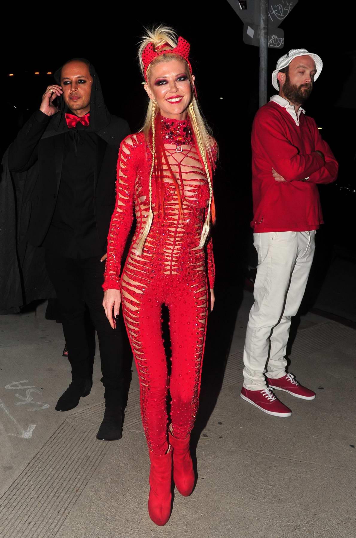 Tara Reid at the 2017 Maxim Halloween party in Los Angeles