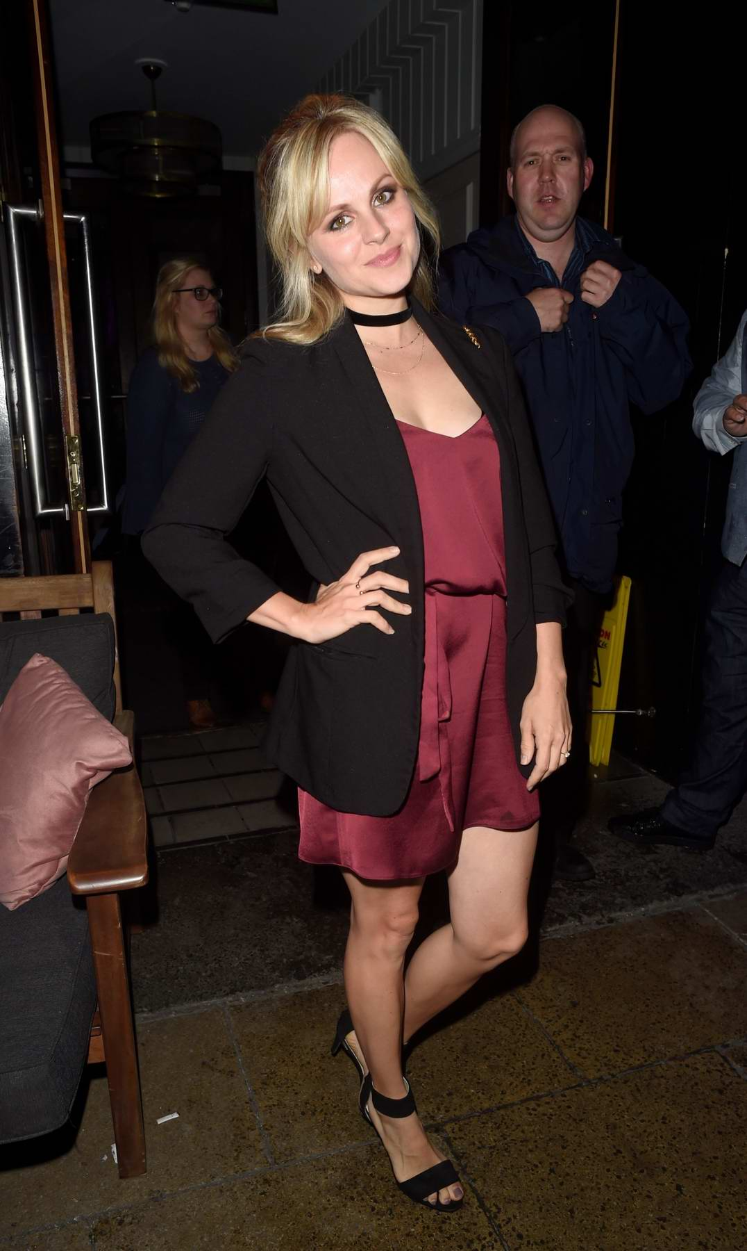 Tina O'Brien enjoying a girls night out The Living Room in Manchester, UK