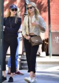 Toni Garrn is spotted out with a friend in New York City