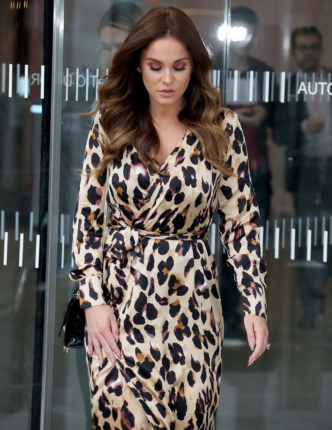 Vicky Pattison leaving The Sun Health Awards in London