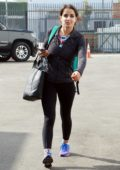 Victoria Arlen seen arriving at the DWTS dance practice studio in Los Angeles