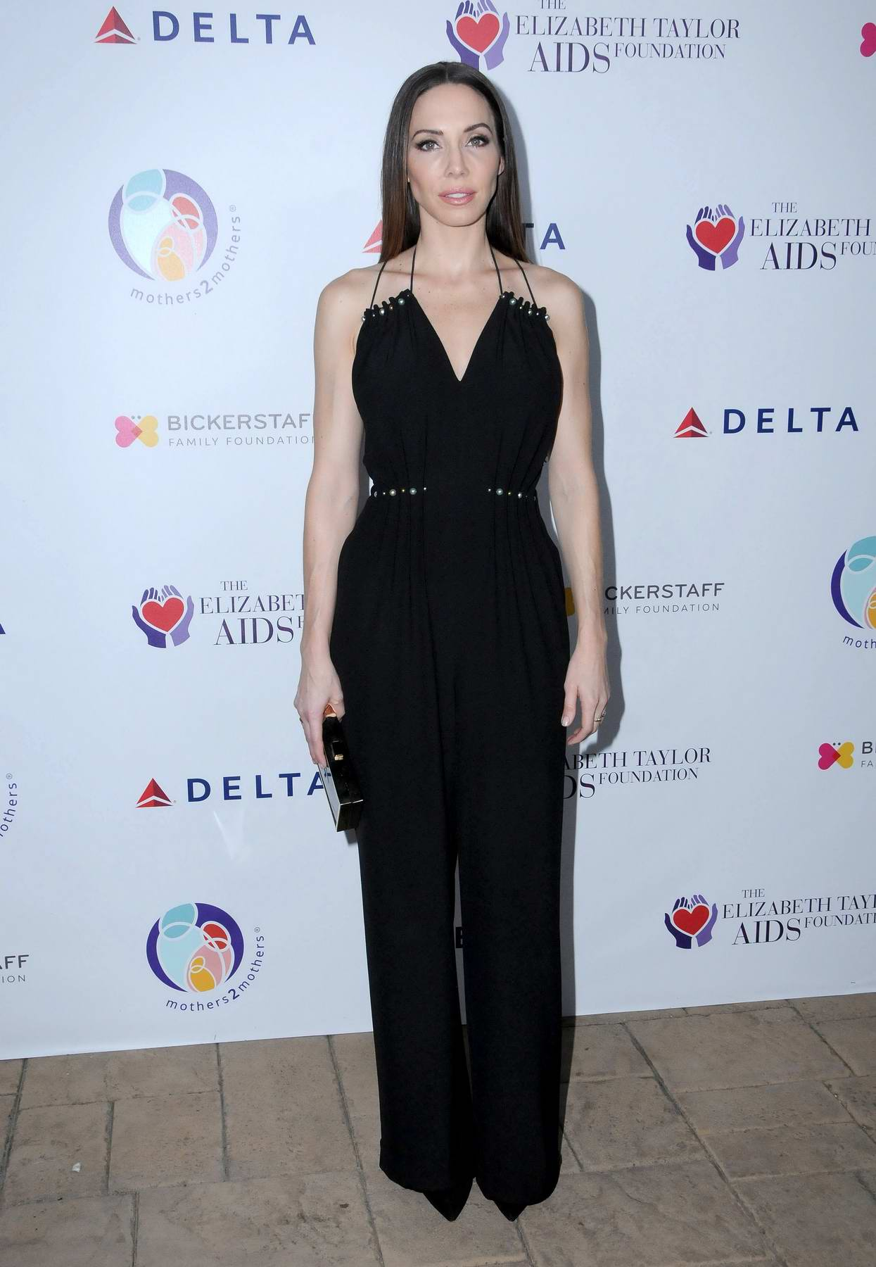 Whitney Cummings at Elizabeth Taylor AIDS Foundation and mothers2mothers benefit dinner in Los Angeles